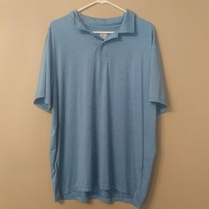 Preowned blue collared shirt